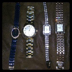 4 Anne Klein Watches